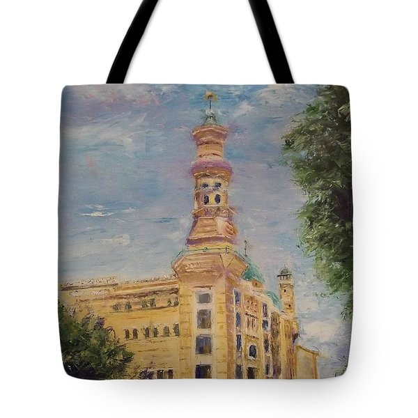 Murat Shrine Temple Tote Bag