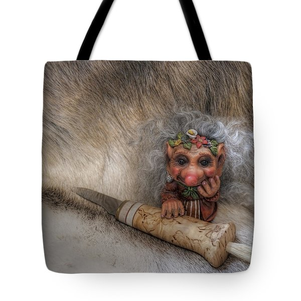 Mushroom Hunter Tote Bag