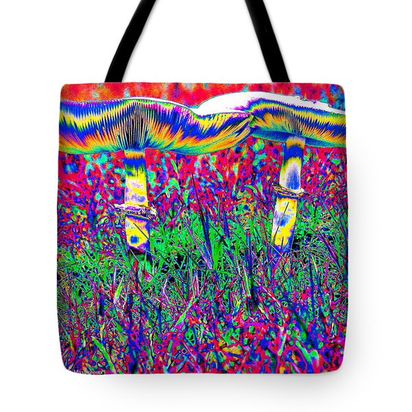 Mushrooms On Mushrooms Tote Bag