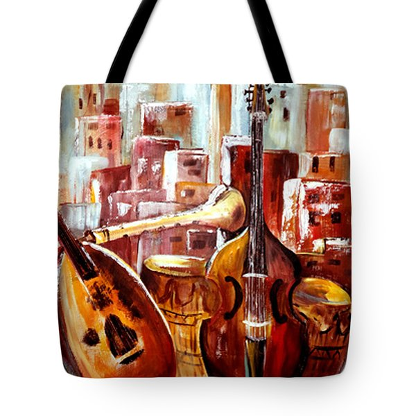 Music Of Morocco Tote Bag