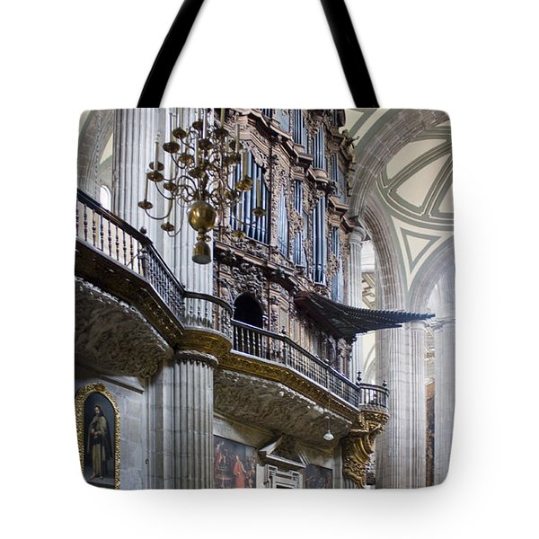 Music On High Tote Bag by Lynn Palmer