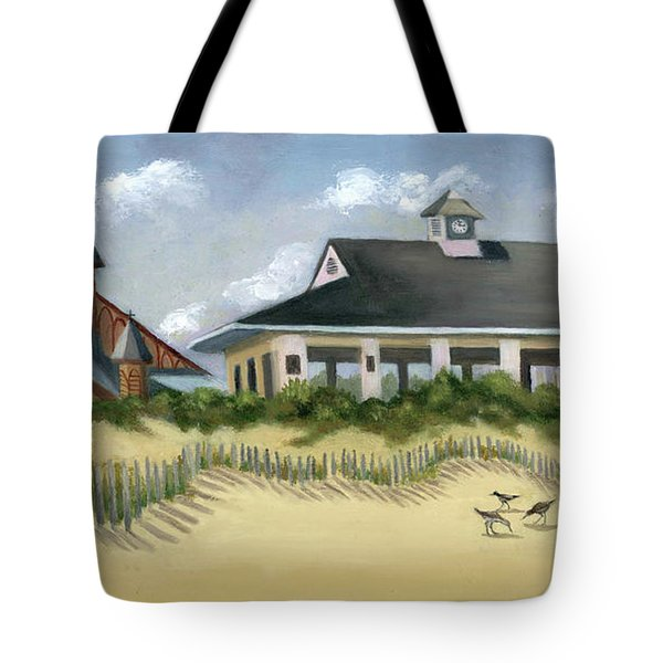 Music Pavillion In Ocean Grove  Tote Bag