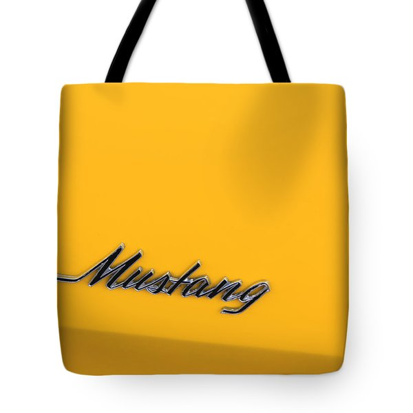 Mustang Tote Bag by Suzanne Gaff