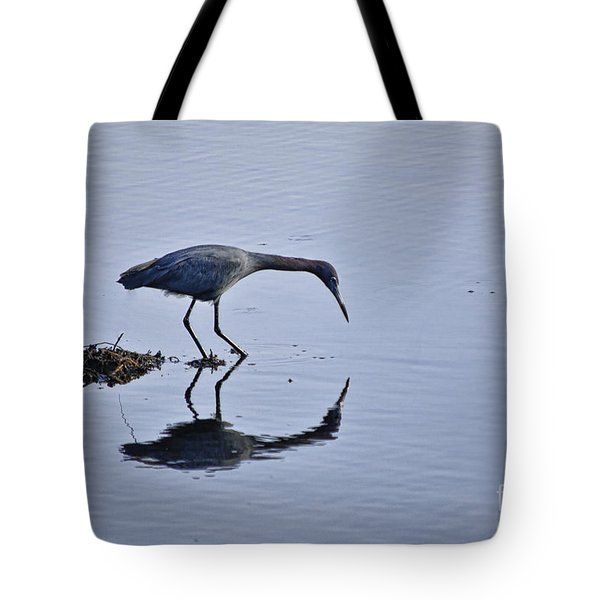 My Blue Reflection Tote Bag by Diego Re