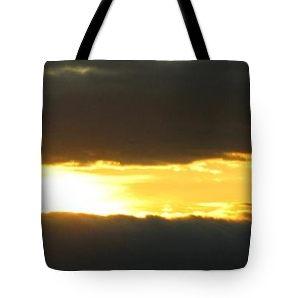 My Cloudy Sunset Tote Bag