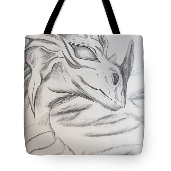 My Dragon Tote Bag by Maria Urso