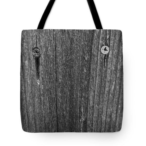 Tote Bag featuring the photograph My Fence by Bill Owen