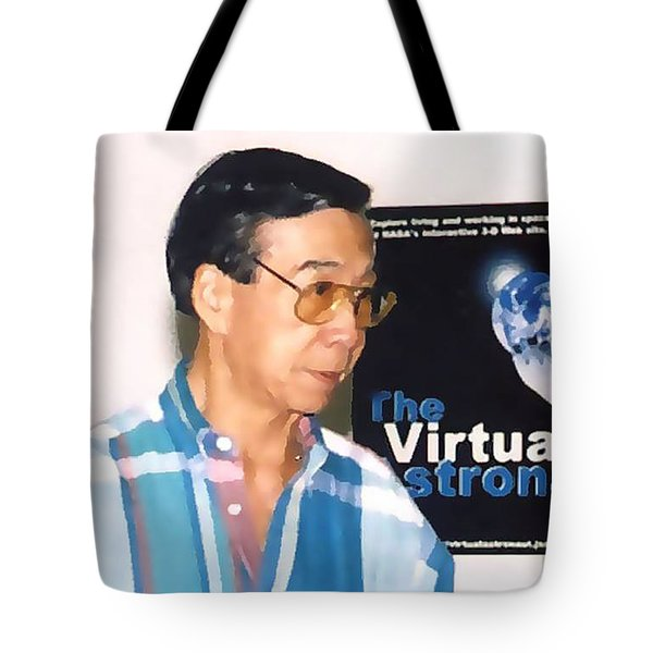 My Friend Bill Tote Bag by Fred Jinkins