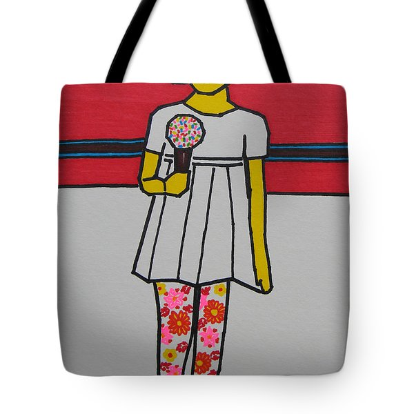 My Ice Cream  Tote Bag