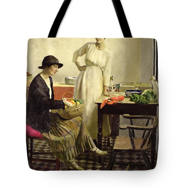 My Kitchen Tote Bag by Harold Harvey