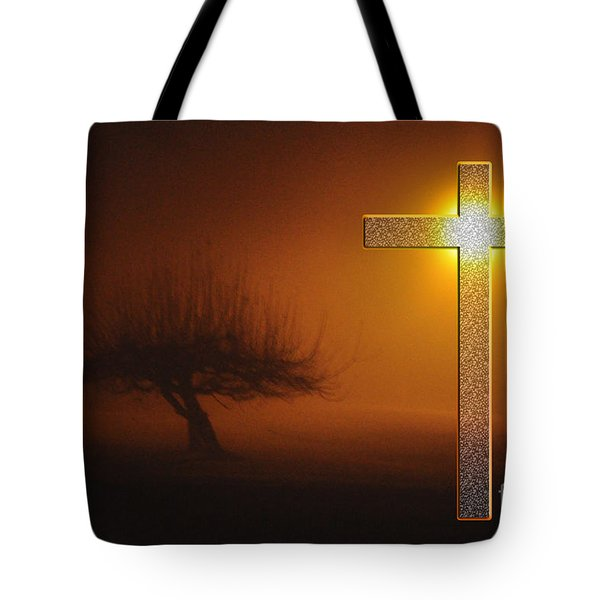 My Life In God's Hands Tote Bag by Clayton Bruster