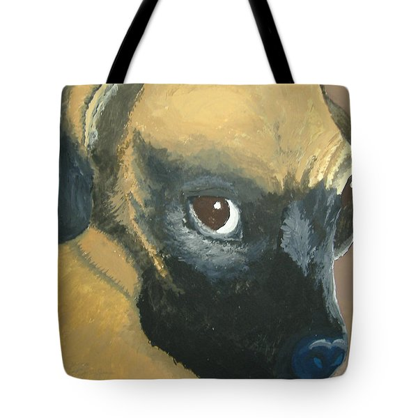Tote Bag featuring the painting My Name Is Attitude by Norm Starks