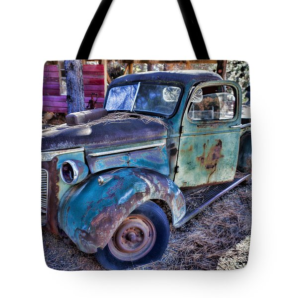 My Old Truck Tote Bag by Garry Gay
