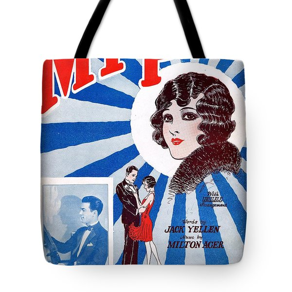My Pet Tote Bag by Mel Thompson
