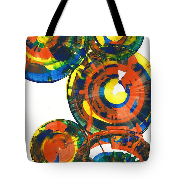 My Spheres Show Happiness  864.121811 Tote Bag