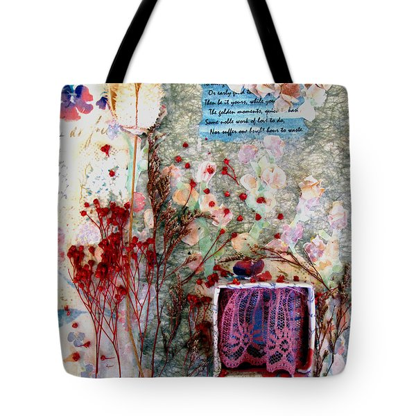 My Stage Tote Bag by Sandy McIntire