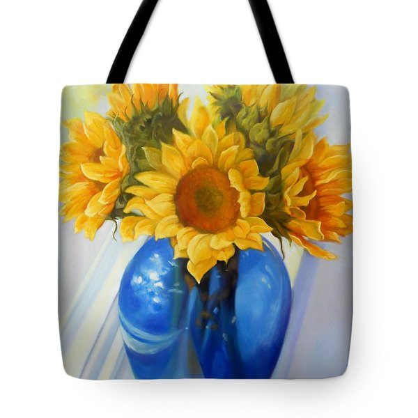 My Sunflowers Tote Bag