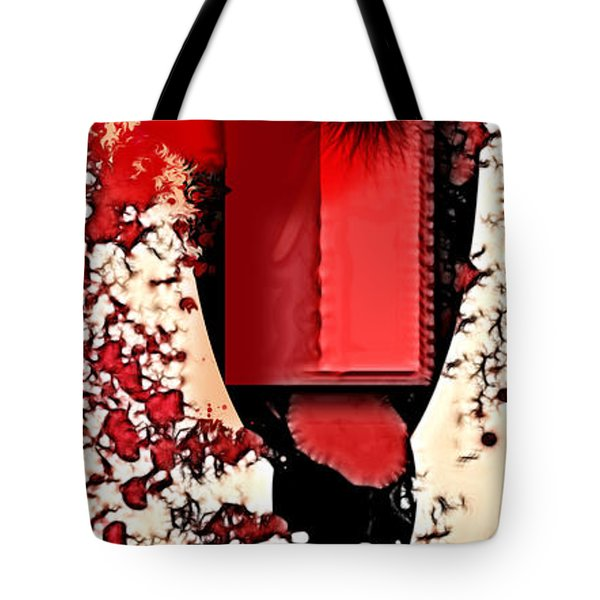 My Thoughts Hurt Tote Bag by Stelios Kleanthous