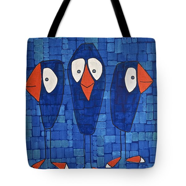 My Three Birds Tote Bag