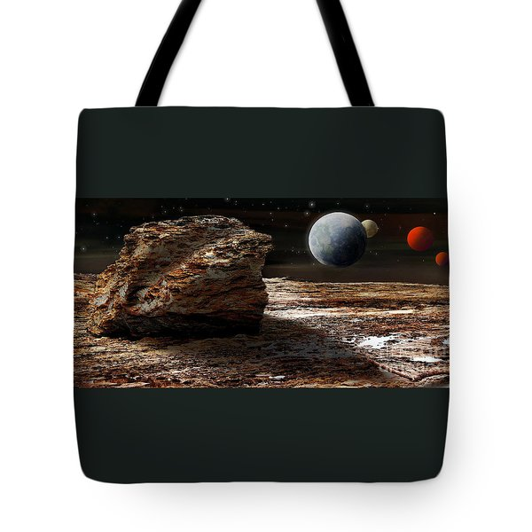 My View From Mars 2 Tote Bag by Kaye Menner