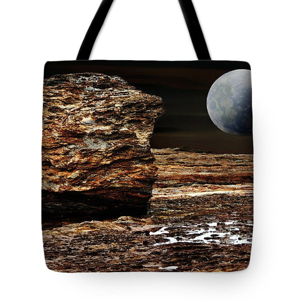My View From Mars Tote Bag by Kaye Menner