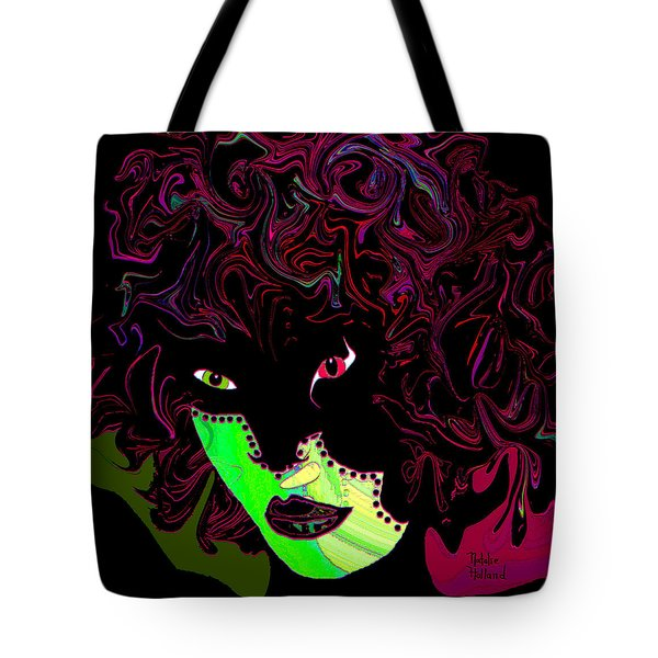 Mysterious Masquerade Tote Bag by Natalie Holland