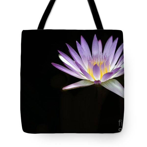 Mysterious Water Lily Tote Bag by Sabrina L Ryan