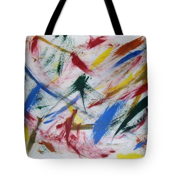 Mystic Colors Tote Bag by M and L Creations Craft Boutique
