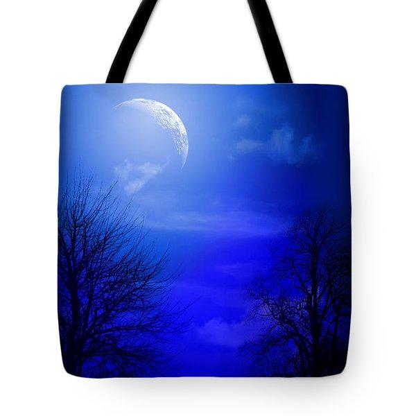Mystic Night Tote Bag by Mark Ashkenazi