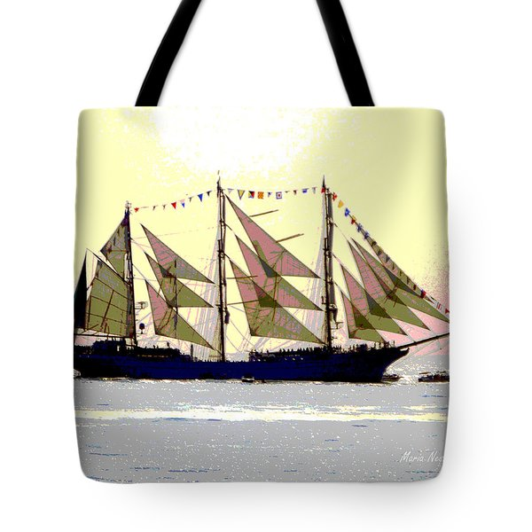 Mystical Voyage Tote Bag