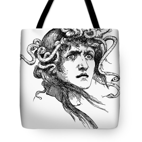 Mythology: Medusa Tote Bag by Granger
