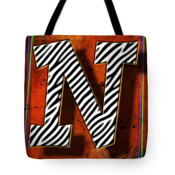 N Tote Bag by Mauro Celotti