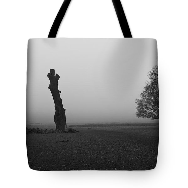 Tote Bag featuring the photograph Naked Tree by Maj Seda