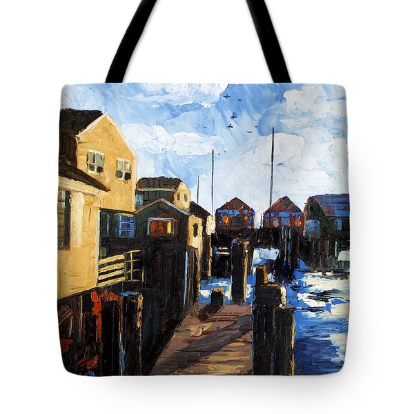 Nantucket Tote Bag by Anthony Falbo