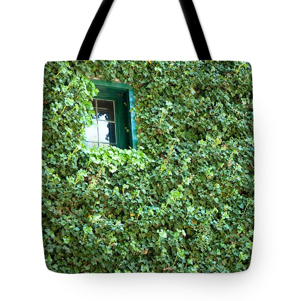 Napa Wine Cellar Window Tote Bag