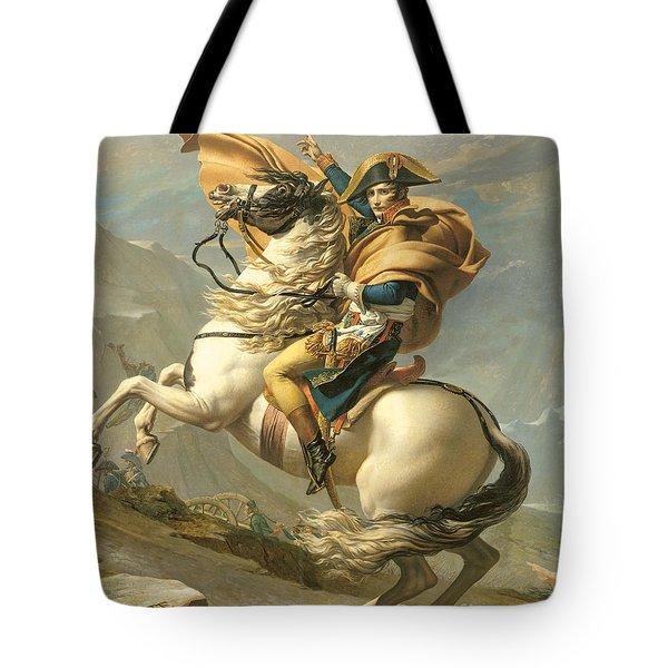 Napoleon Tote Bag by Jacques Louis David