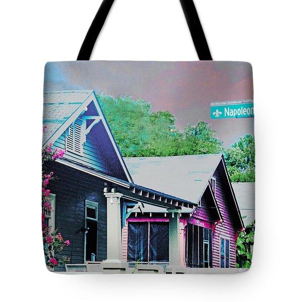 Napoleon Street Beauregard Baton Rouge Tote Bag