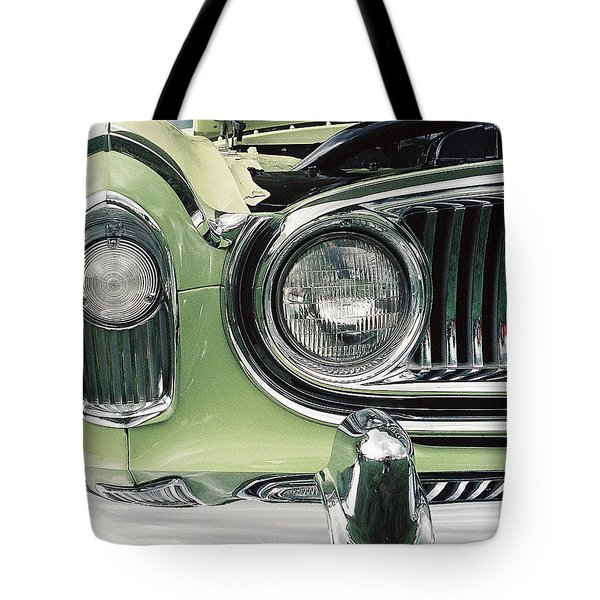 Tote Bag featuring the photograph Nash Nose by John Schneider