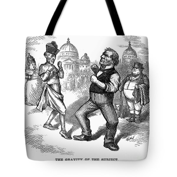 Nast: Papal Infallibility Tote Bag by Granger