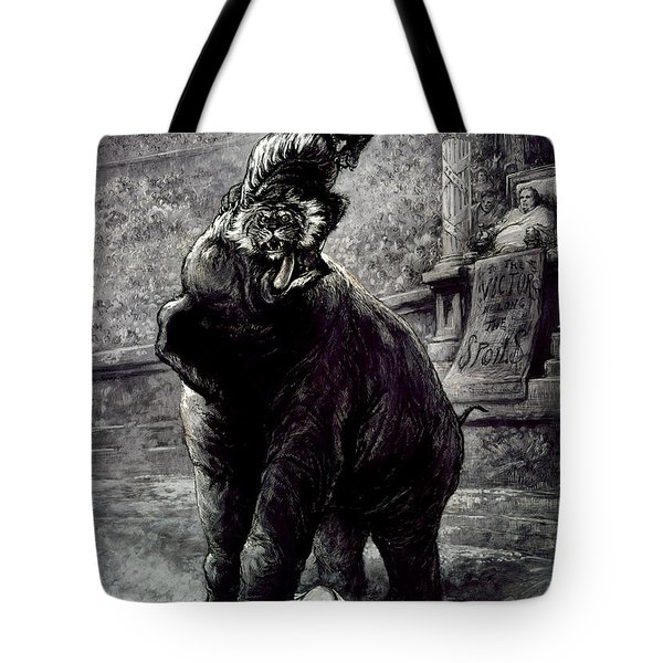 Nast: Spoils System Tote Bag by Granger