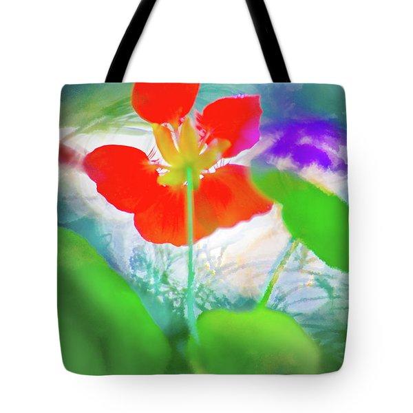 Nasturtium Tote Bag by Richard Piper