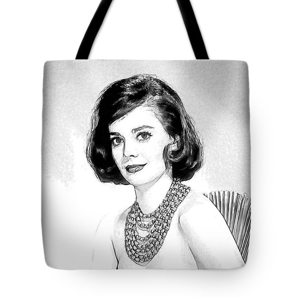 Natalie Wood 05 Tote Bag by Dean Wittle