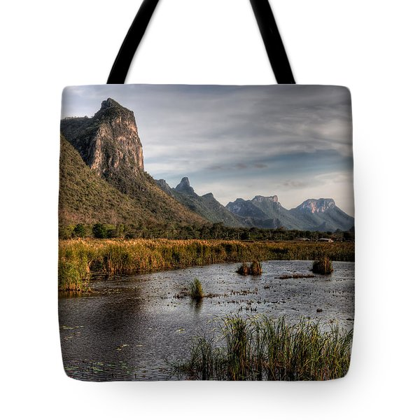 National Park Thailand Tote Bag by Adrian Evans