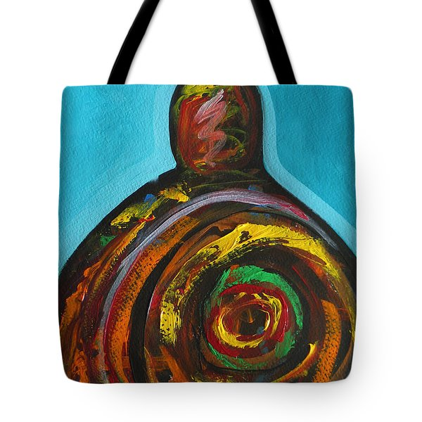 Native Abstract Tote Bag by Lance Headlee