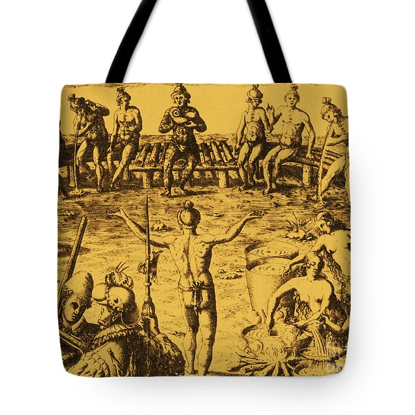 Native Amercian Medicine Tote Bag by Science Source