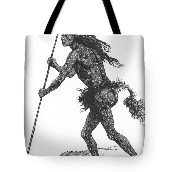 Native American Shaman Tote Bag by Science Source