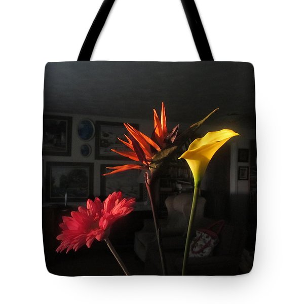 Tote Bag featuring the photograph Natural Light by Tina M Wenger
