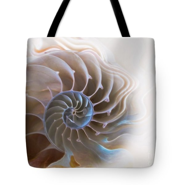 Natural Spiral Tote Bag by Danuta Bennett