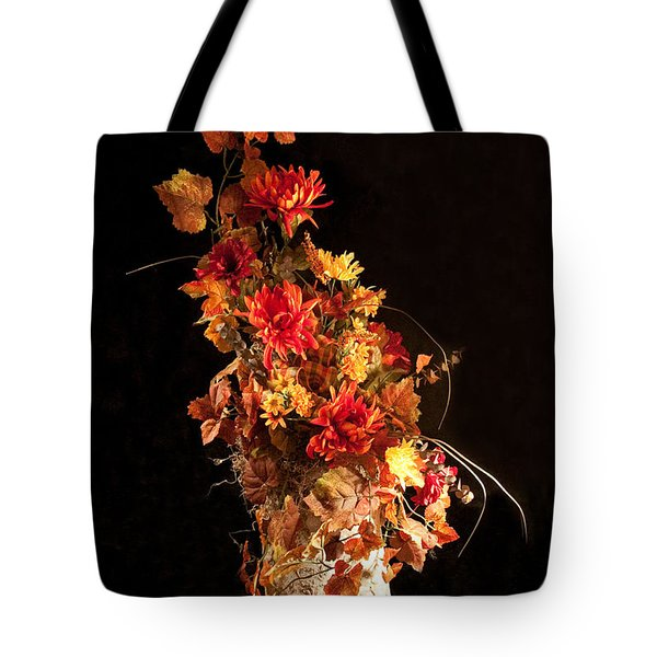 Nature In Autumn I Tote Bag by Dinah Anaya