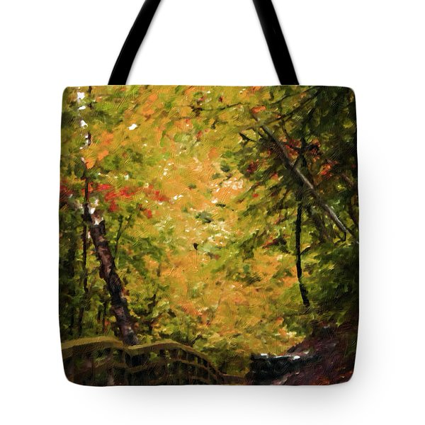 Tote Bag featuring the photograph Nature In Oil  by Deniece Platt